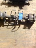 LOT OF (2) HASKEL GAS BOOSTERS
