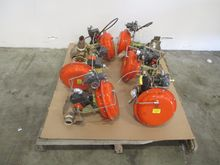 LOT OF 6 FISHER CONTROL VALVES