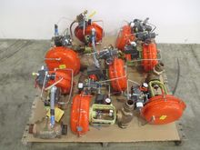 LOT OF 8 FISHER CONTROL VALVES