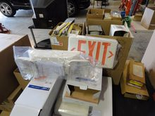BOX LOT OF ELECTRIC WATER HEATE