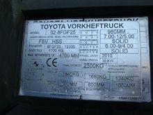 2010 Toyota 02-8FGF25 # 7900