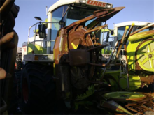 Used Claas Axion 840