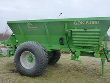 2014 GUSTROWER GDK 8000