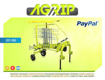 2016 TOP AGRIP Rotary tedder Ro