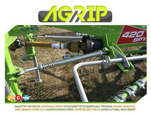 2016 TOP AGRIP Rotary swather 4
