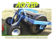 2016 TOP AGRIP Meadow roller Wo
