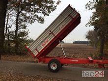 1985 Krone EDK210 5,7 Aluaufbau