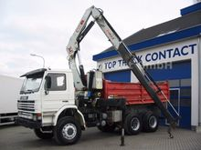 1997 Scania 113H360 6x4 tipper