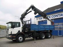 2000 Scania 114 C 340 6x4 tippe