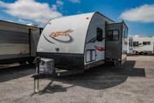 Used Toy Hauler Travel Trailer for sale  Forest River