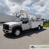 2008 Ford F550 Altec AT37G 42ft