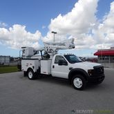 2008 Ford F550 Altec AT37MH 42f