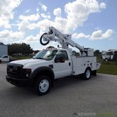 2008 Ford F550 Altec AT37G Buck