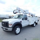 2009 Ford F550 Altec AT37G Buck