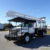 2008 Ford F750 57ft Flatbed Buc