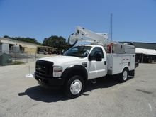 2010 Ford F550 Altec AT37G Buck
