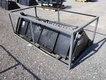 Suihe 4-in-1 Skid Steer Bucket