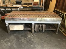 Heavy Cast Welding Table & Clam