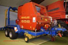 New Holland 658 mit Wickelgerät