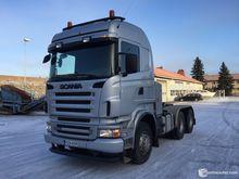 Scania R500 a platform locomoti