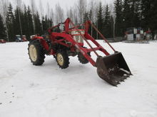 Garden Tractor 4x4 dual functio