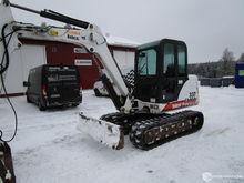Used Bobcat 337 exca