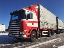 Scania 144 dumper nostokapelli