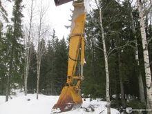 Used The excavator b