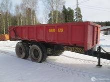 Maansiirtokärry 15 ton