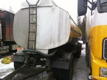 Used tank Trailer in