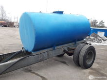 Used Water tank afte