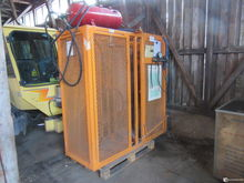Tire filling cage, self-made