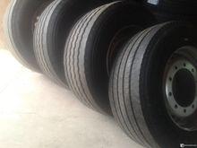 4 pcs Tires 385/55 r 22.5 unlad