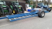 1-axle tractor with 9ft capacit