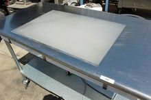 "S.S. Inspection Table, 60"" x 30"