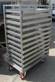 "Trolley With 38"" x 20"" Perforat"