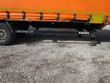 2012 Kögel pushing box trailer