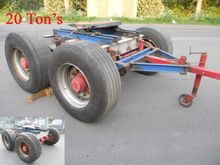 Dolly 20 Tons Rood / Blauw