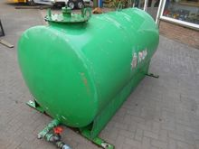 Water - Vloeistoftank Groen