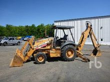 2002 CASE 580SM 4x4 Loader Back