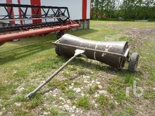 8 Ft Steel Tapered Swath Roller