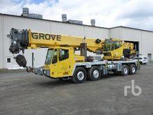 2007 GROVE TMS700E 60 Ton 8x4x4