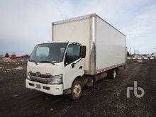 2013 HINO 195 COE S/A Van Truck