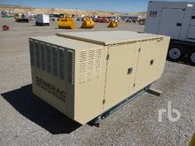 2001 GENERAC 25 KW Skid Mounted