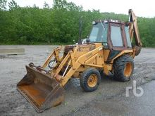 1984 CASE 580E 4x2 Loader Backh