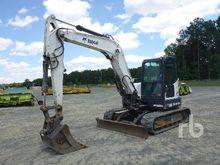 2011 BOBCAT E80 Midi Excavator