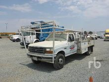 1996 FORD F450 Flatbed Trucks
