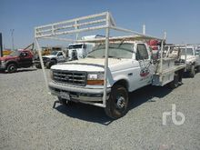 1996 FORD F450 Flatbed Trucks