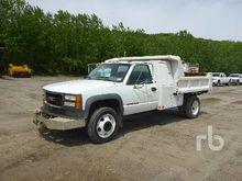 2002 GMC 3500HD Dump Truck (S/A