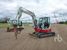 2014 TAKEUCHI TB153 Mini Excava